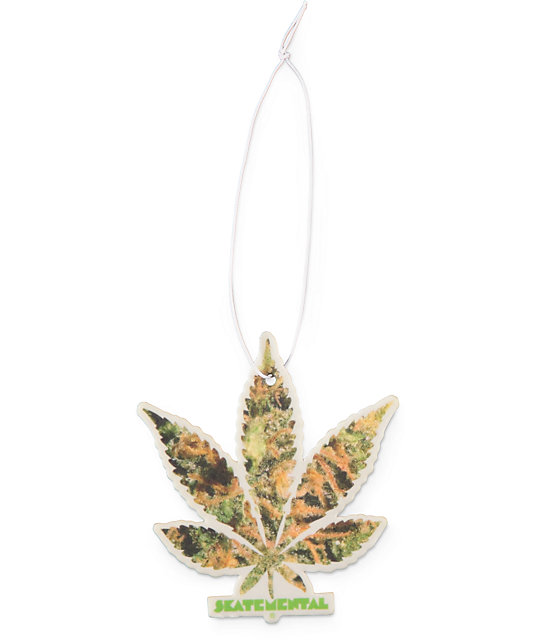 Skate Mental Pattern Leaf Air Freshener