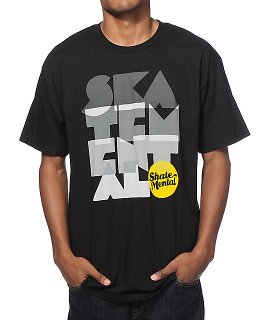 Skate Mental Stacker T-Shirt
