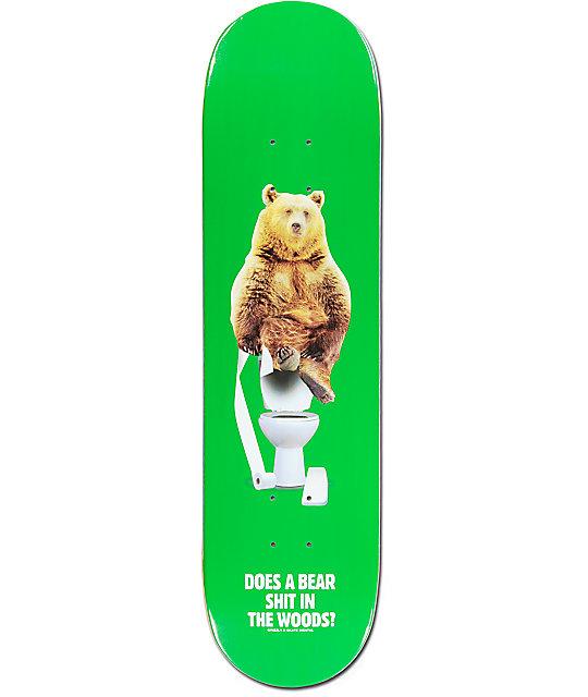 "Skate Mental x Grizzly Upper Decker 8.125"" Skateboard Deck"