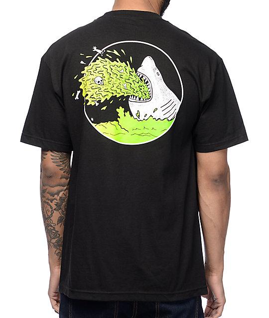 Sketchy tank barf black t shirt for Be sketchy t shirts