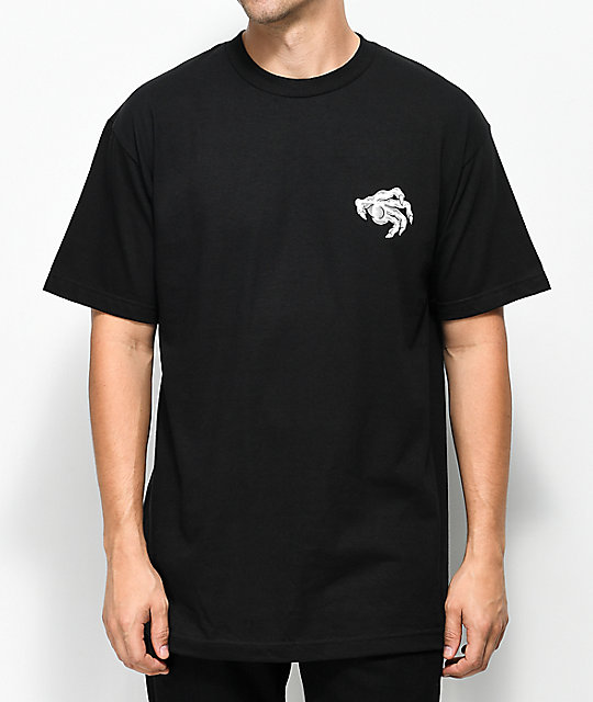 Sketchy Tank Good Fortune Black T-Shirt