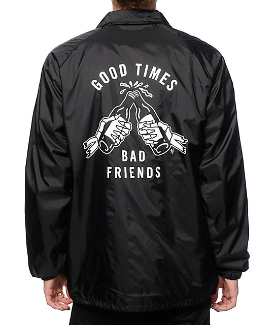 Sketchy Tank Good Times Coach Jacket | Zumiez