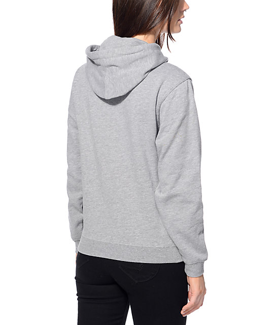 Sketchy Tank Suds and Pie Heather Grey Hoodie