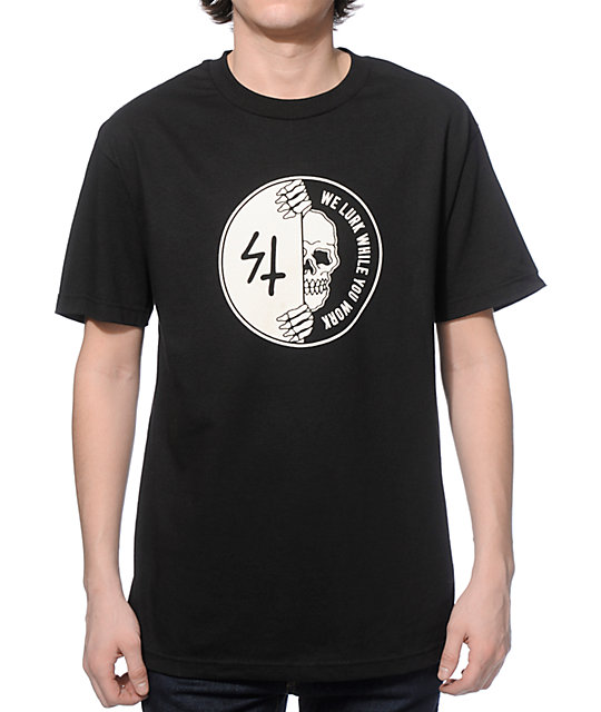 Sketchy tank work t shirt zumiez for Be sketchy t shirts