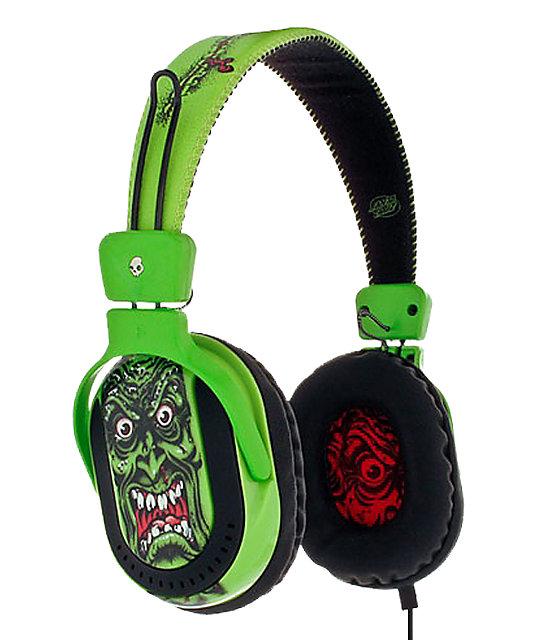Skullcandy Agent Green Roskopp Headphone