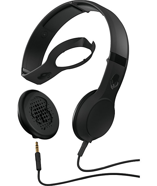 Skullcandy Black Cassette Headphones