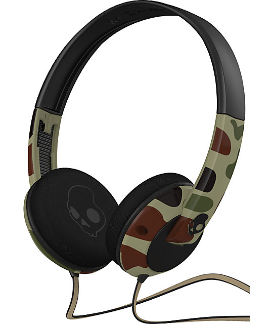 Skullcandy Camo Uprock Headphones