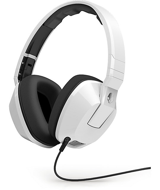 skullcandy crusher white headphones at zumiez pdp