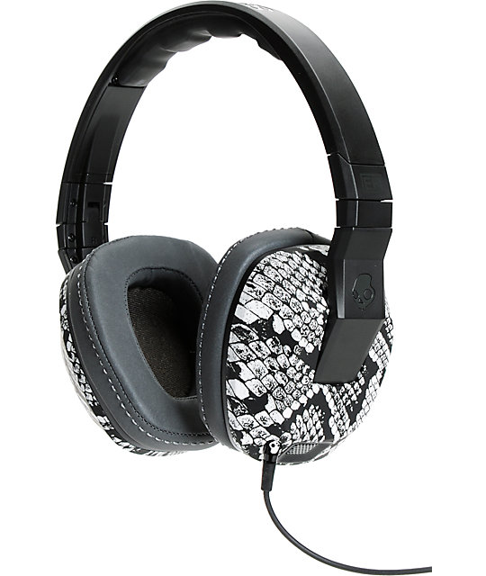 Skullcandy Eric Koston Crushers Snake Print Headphones