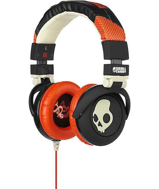 Skullcandy GI Black Pin Stripe Headphones