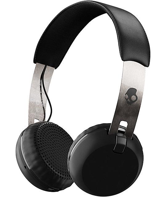 Skullcandy Grind Wireless Black, Chrome & Black Headphones