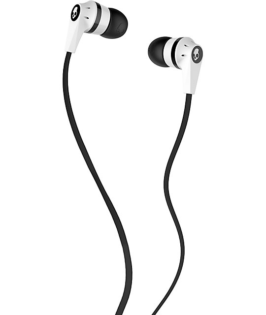 Skullcandy Inkd 2.0 Black & White Earbuds