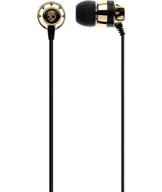 Skullcandy Inkd Gold Earbuds