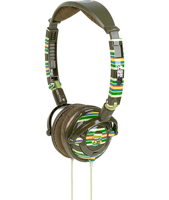 Skullcandy Lowrider Brown Headphones