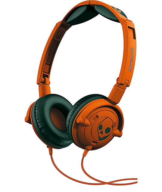 Skullcandy Orange Lowrider Headphones