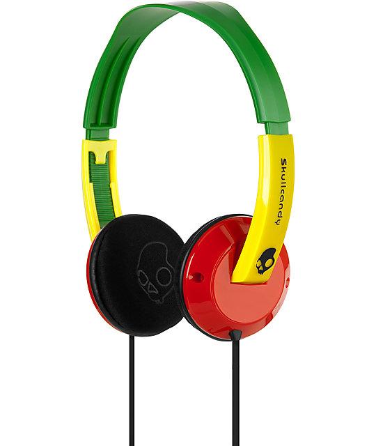 Skullcandy Rasta Uprock Headphones