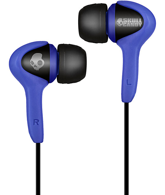 Skullcandy Smokin Buds Blue Earbuds