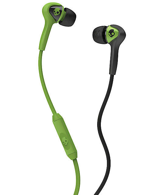 Skullcandy Smokin Buds Lurker Green Earbuds