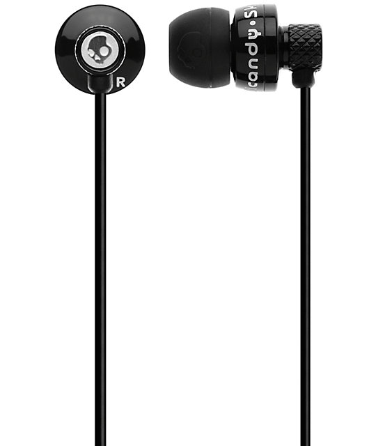 Skullcandy Titan Black Earbuds