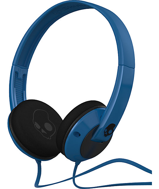 Skullcandy Uprock Blue & Black Headphones