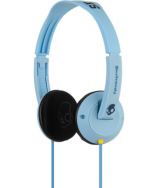 Skullcandy Uprock Blue Headphones