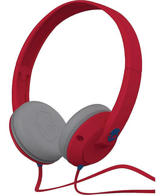 Skullcandy Uprock Red Headphones