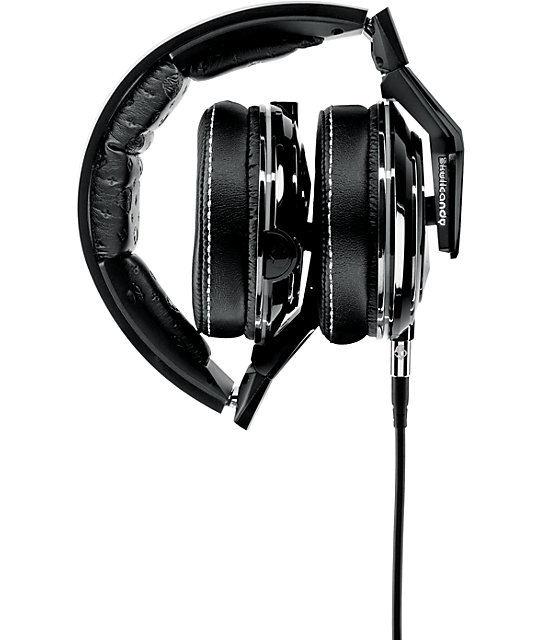Skullcandy x Mix Master Mike Mike Gloss Black Headphones