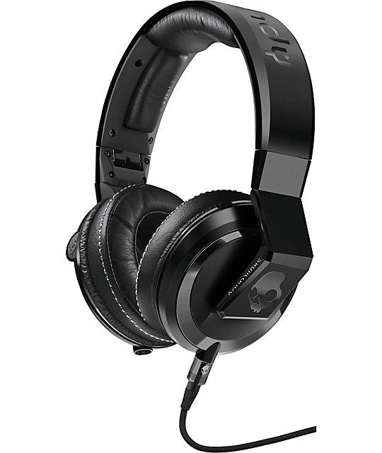 Skullcandy x Mix Master Mike Mike Gloss Black Headphones