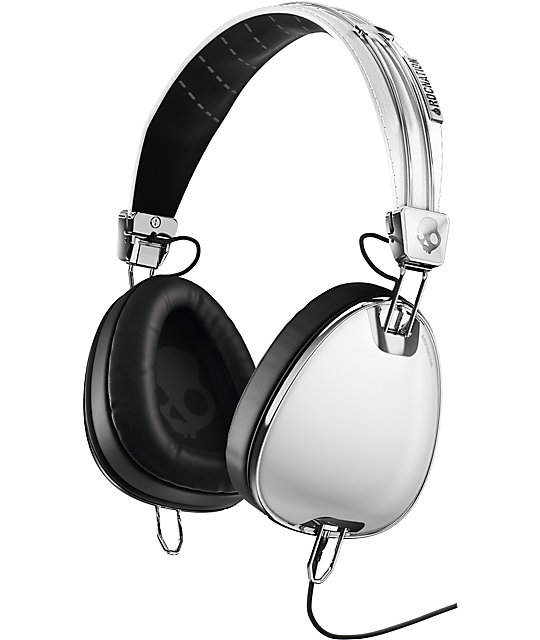 Skullcandy x Roc Nation Aviator Micd White Headphones