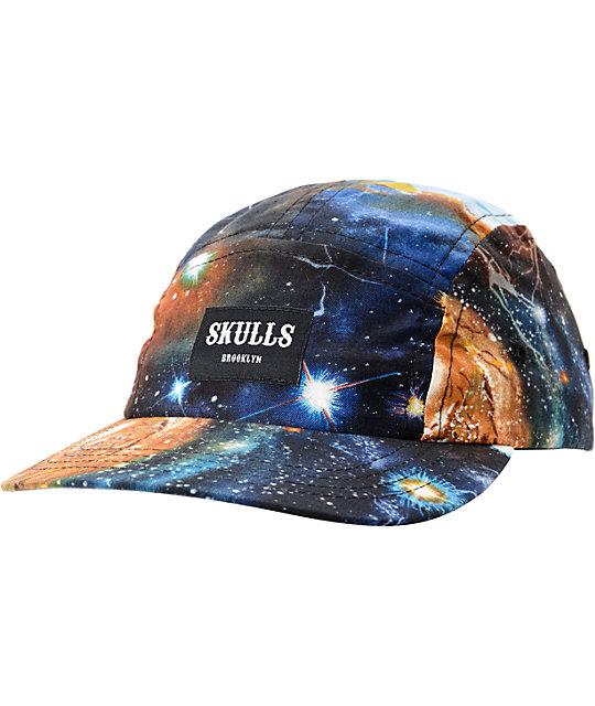 Skulls Cosmos 5 Panel Hat