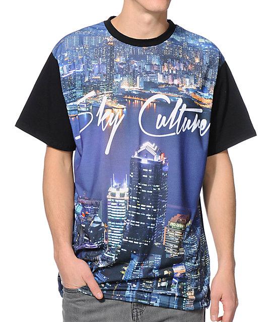 Culture City Black Sublimated T-Shirt