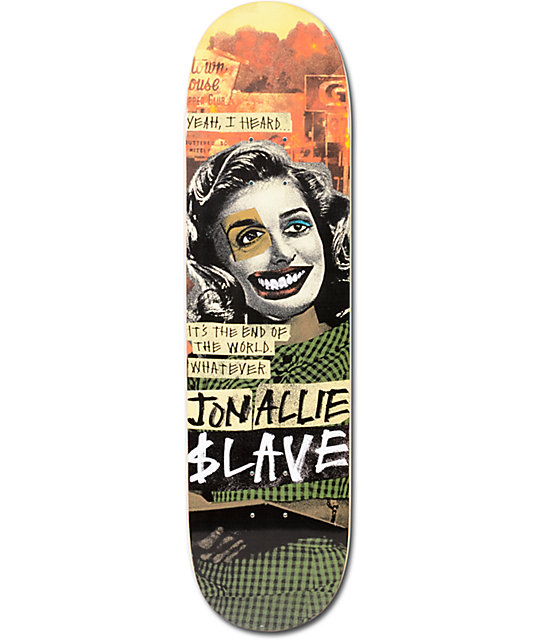 "Slave Allie End Of The World 8.125""  Skateboard Deck"