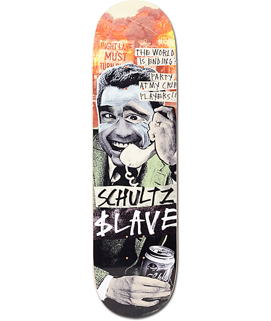 "Slave Schultz End Of The World 8.25""  Skateboard Deck"