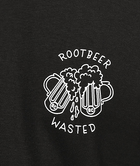 Slushcult Root Beer Wasted Black T-Shirt