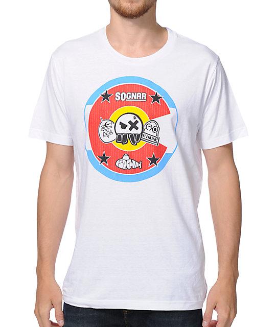 So-Gnar Slipmat White T-Shirt