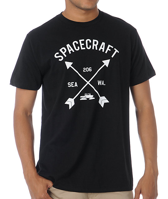 Spacecraft Archery Black T-Shirt