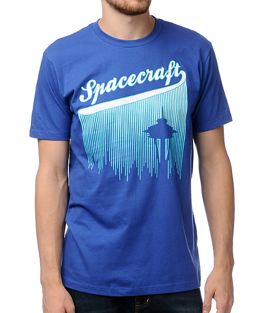 Spacecraft Ballpark Blue T-Shirt