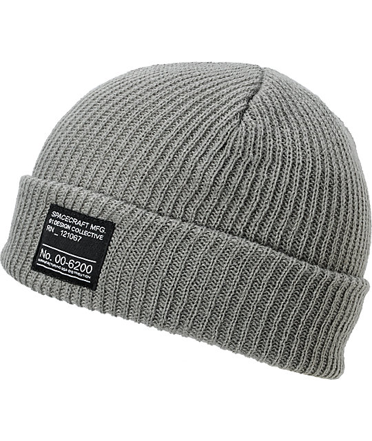 Spacecraft Dock Grey Beanie