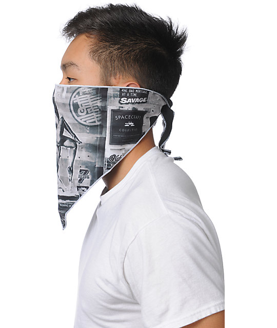 Spacecraft Eat The Rich 2013 Artist Series Face Mask Bandana