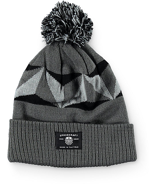 Spacecraft Geo Pom Beanie