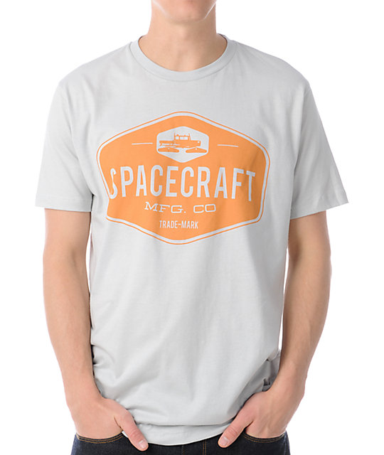 Spacecraft MFG Grey T-Shirt