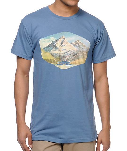 Spacecraft Mountain Blue T-Shirt