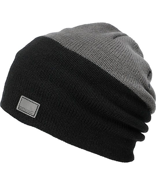 Spacecraft Offender Black & Grey Beanie
