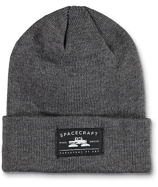 Spacecraft Otis Grey Cuff Beanie