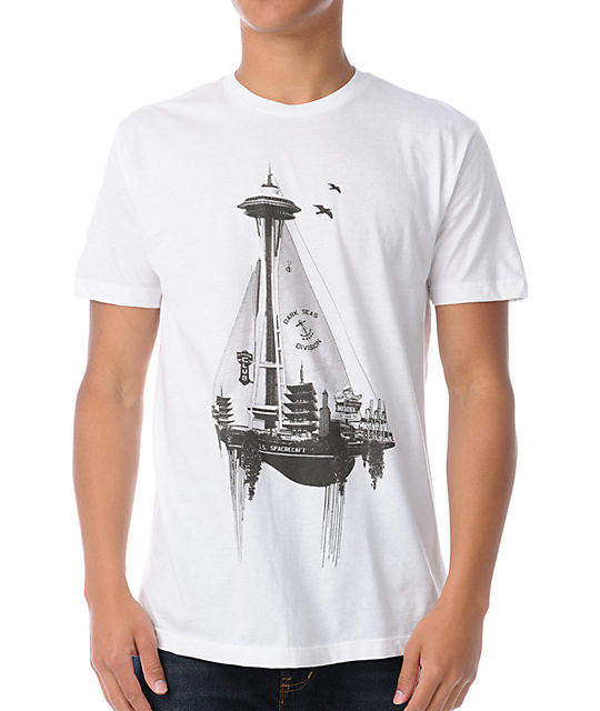 Spacecraft S.S. Spacecraft White T-Shirt