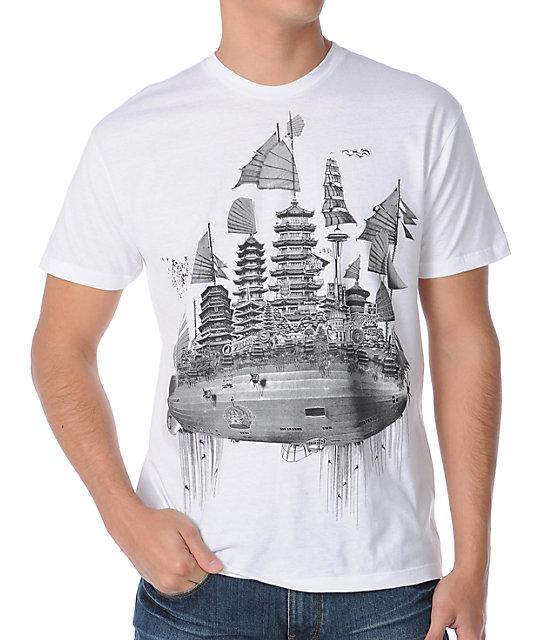 Spacecraft Saint City White T-Shirt