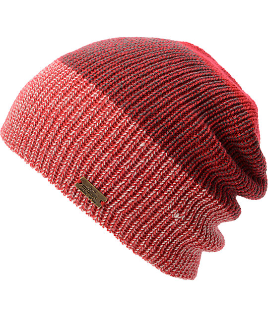 Spacecraft Simple 2-Tone Red Beanie