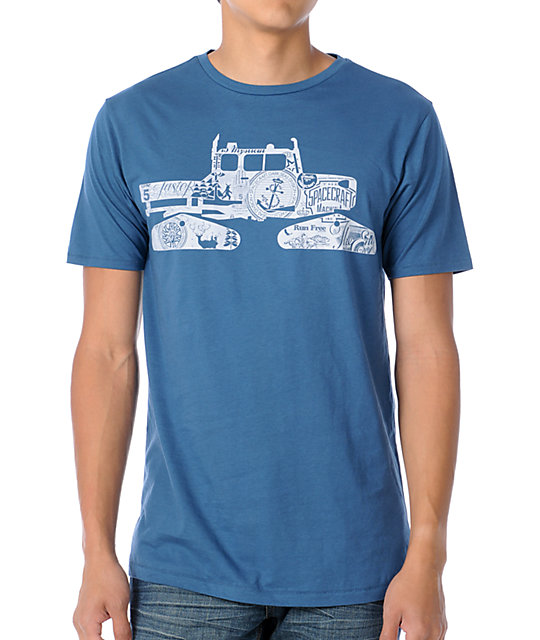 Spacecraft Snowcat Blue T-Shirt