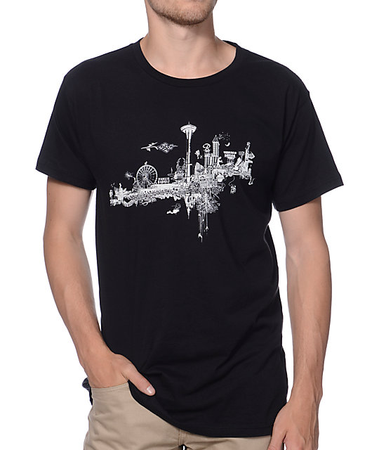 Spacecraft The Escape Black T-Shirt