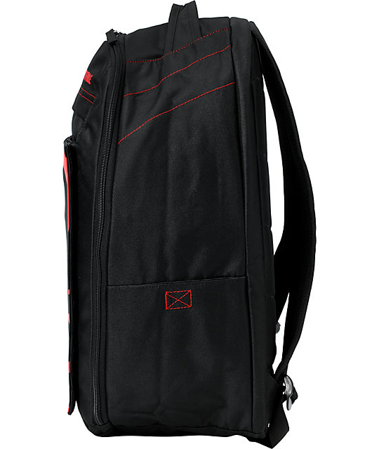 spitfire backpack. spitfire bighead black \u0026 red skate backpack ;